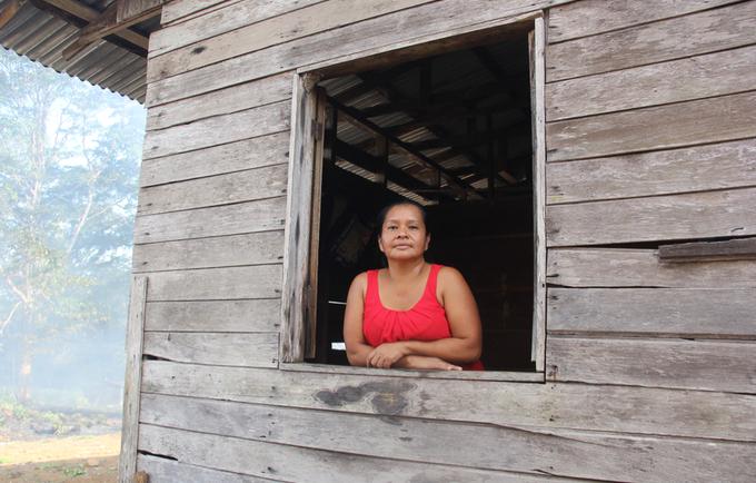 Doris Ríos de China Kichá, fue una de las participantes del territorio