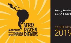 Costa Rica recibirá a representantes de 26 países para evaluar agenda regional de pueblos afrodescendientes